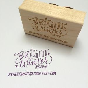 BrightWinterStudio stamp