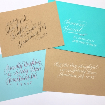 Calligraphy styles for every occasion