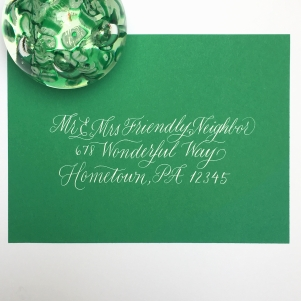 Envelope_Evergreen Calligraphy3.JPG
